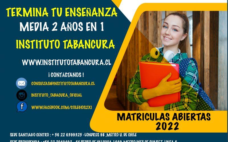 matriculas 2022